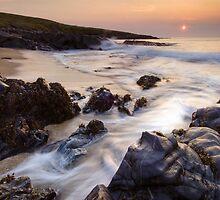 Outer Hebrides Sunset by Michael Treloar