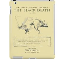 kaulder history from the last witch hunter iPad Case/Skin