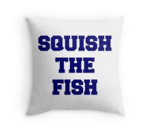 Squish the Fish Throw Pillow