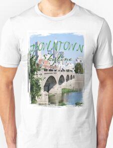 Downtown Skyline Unisex T-Shirt