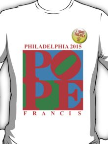 "Love Park Pope ""I Was There"" T-Shirt"