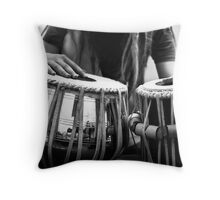 Tabla Newcomer Throw Pillow