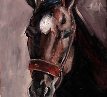 Gentle Heart Horse Portrait oil painting by Eastland Equestrian