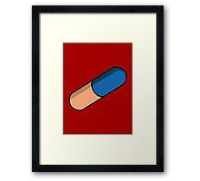Kaneda's Pill (Akira) Framed Print