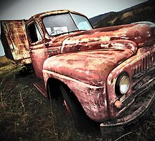 Old truck - Lomo Affect by Steve Bass