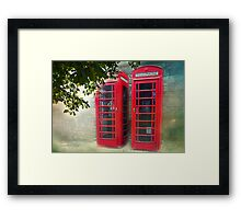 London Calling, Are we Reaching? Framed Print