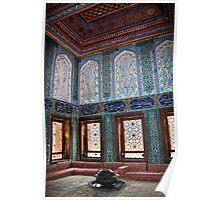 Turkey. Istanbul. Topkapi Palace. Harem. Apartments of crown prince. Poster