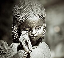 Crying Angel by Karen Havenaar
