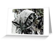 Hooded Man Greeting Card
