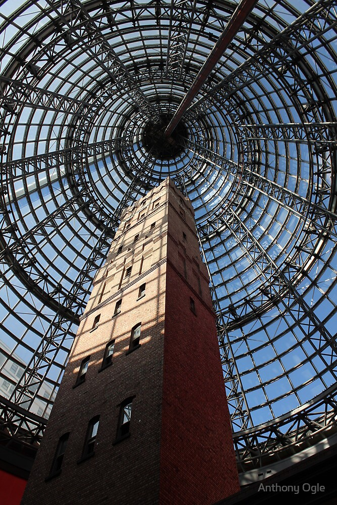 Melbourne Shot Tower - Arcade by Anthony Ogle