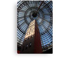 Melbourne Shot Tower - Arcade Canvas Print