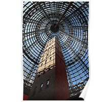Melbourne Shot Tower - Arcade Poster