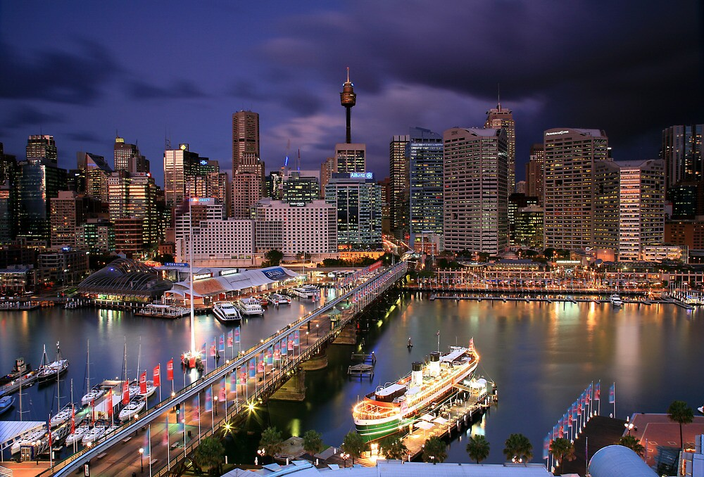 Dazzling Darling Harbour by Cameron B
