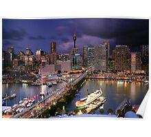 Dazzling Darling Harbour Poster