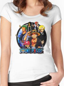 one piece Women's Fitted Scoop T-Shirt