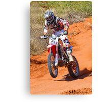 Bike 2 - Finke 2011 Day 2 Canvas Print