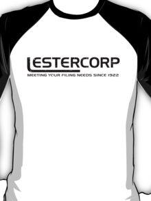 Lestercorp logo from Being John Malkovich T-Shirt