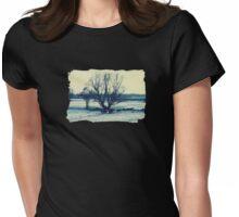 Winter - JUSTART © Womens Fitted T-Shirt