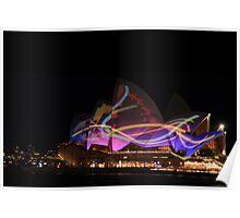 Opera House, Vivid Sydney 2011 Poster