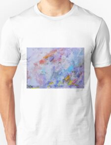 Tree in Violet (2) 2015 Unisex T-Shirt