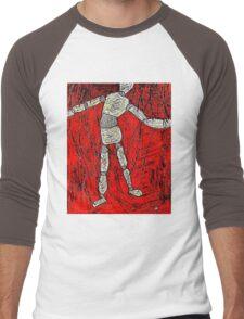 Dead Puppet Men's Baseball ¾ T-Shirt