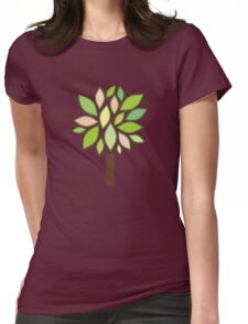 Growing Tree Womens Fitted T-Shirt