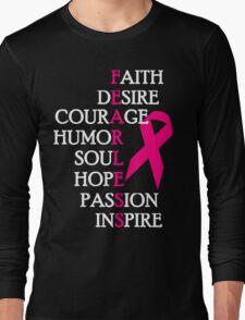 Fearless Breast Cancer Awareness Long Sleeve T-Shirt