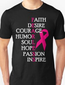 Fearless Breast Cancer Awareness T-Shirt