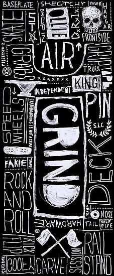 GRIND by Steve Leadbeater