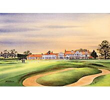 Muirfield Golf Course 18Th Green Photographic Print