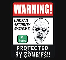 PROTECTED BY ZOMBIES Unisex T-Shirt