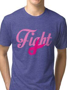 Fight Breast Cancer Awareness Tri-blend T-Shirt