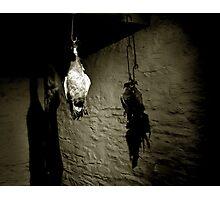 Hanging Fowl Photographic Print