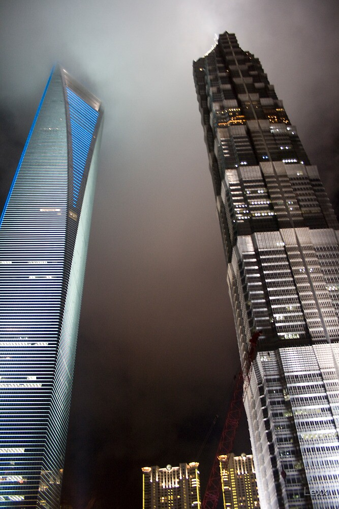 Shanghai Towers by Lexx