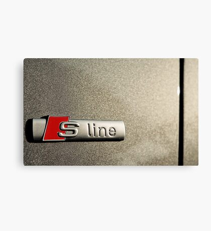 S-Line; Representing Power and Beauty Canvas Print