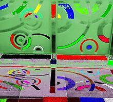 Chromatic Aberration  by John Gaffen