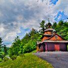 Church on a Hill by DmitriyM
