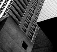 Concrete Cubism - Barbican by compoundeye