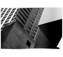 Concrete Cubism - Barbican Poster