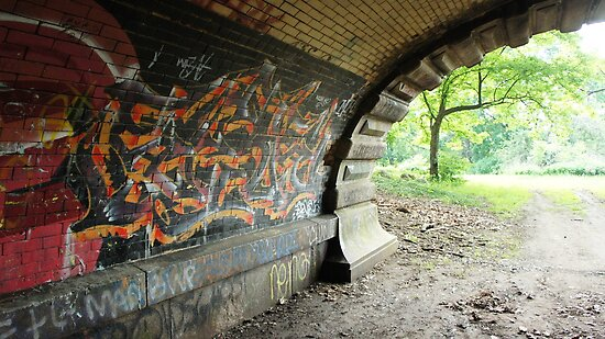 Graffiti Tunnel by Jessica Liatys
