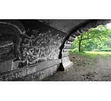 Graffiti Tunnel 2 Photographic Print