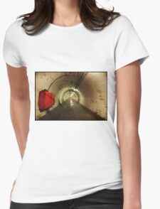 Greenwich to Woolwich iii Womens Fitted T-Shirt