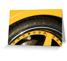 Ferrari 360 Spider Novetec Design  Greeting Card