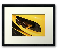 Ferrari 360 Spider Novetec Design - Exhaust Framed Print