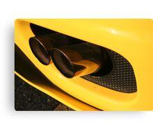 Ferrari 360 Spider Novetec Design - Exhaust Canvas Print