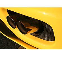 Ferrari 360 Spider Novetec Design - Exhaust Photographic Print