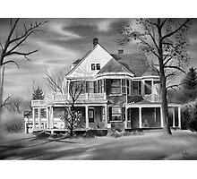 American Home III BW Photographic Print