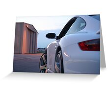 PORSCHE TUBRO SWAGGER Greeting Card