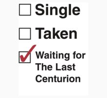 SINGLE TAKEN THE LAST CENTURION STCKER by thischarmingfan