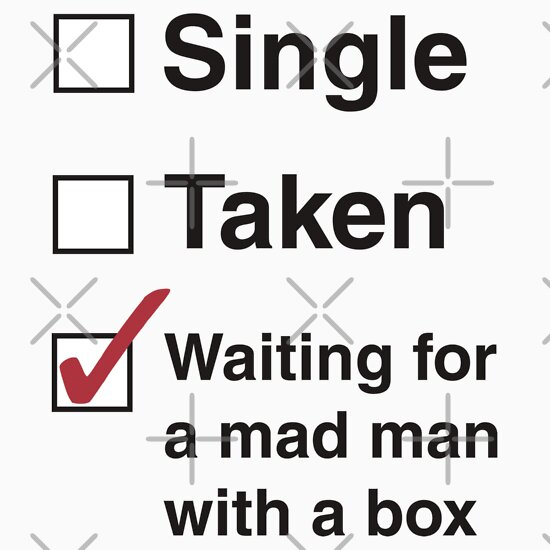 TShirtGifter presents: SINGLE TAKEN MAD MAN WITH A BOX